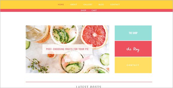 WordPress Website Templates For Artists