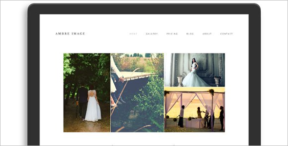 WordPress Website Templates For Photographers