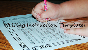 Writing Instruction Templates