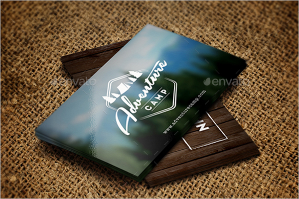 Zoo Business Card Template PSD