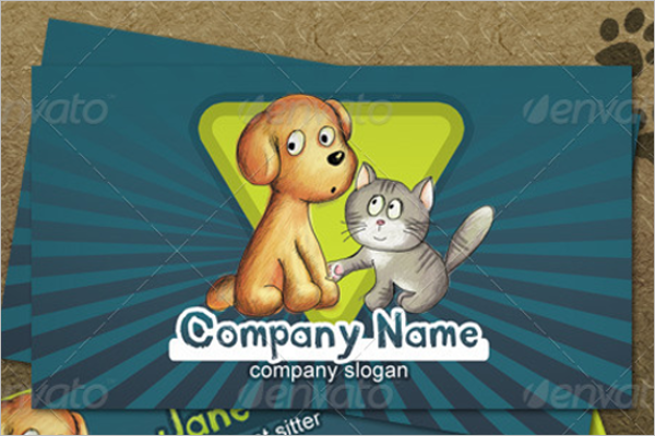 Zoo Business Card Template