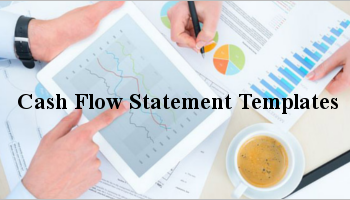 cash flow statement templates