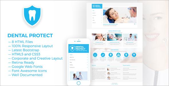 clinic website template