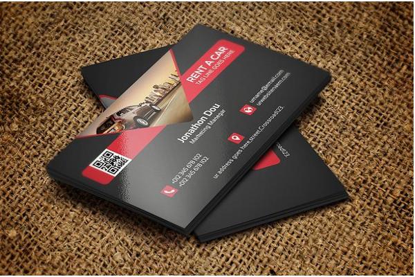 cool automotive business cards