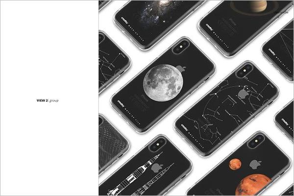 iPhone X Black Mockup
