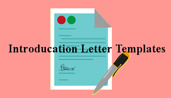 Introduction Letter Templates