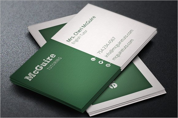 Business cards for substitute teachers images card design and card 15 teacher business card templates free psd designs substitute teacher business cards examples reheart images flashek Gallery