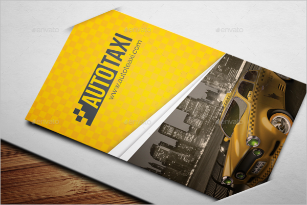 taxi business card template psd