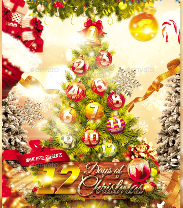 12 DaysChristmas Party Theme