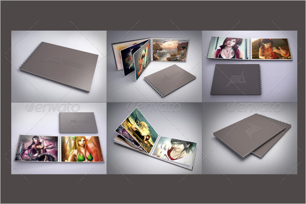 3DPortfolio Mockup Design