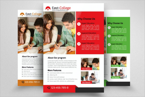 A0 College Poster Template
