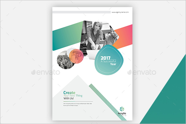 A4 Digital Brochure Template