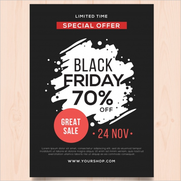 A4 Free Poster Template