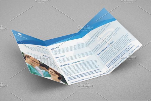 A4 Medical Brochure Template