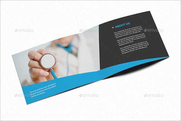 A5 Medical Brochure Template