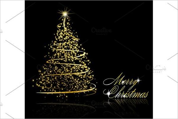 Abstract Christmas tree Design