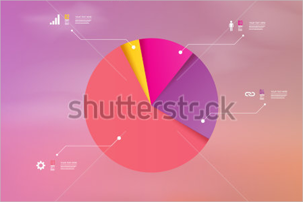 Abstract Pie Chart Template
