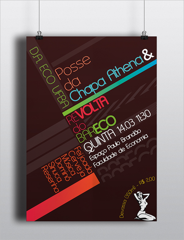 Academic Event Poster Template