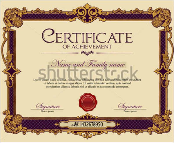 Academic Team Certificate Template