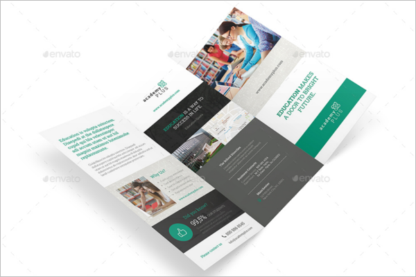 Academy Trifold Brochure Template