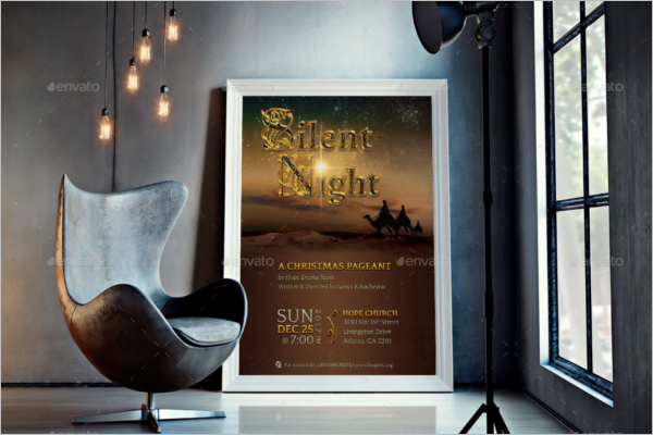 Adope Photoshop Poster template