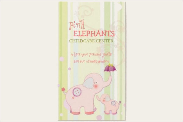 Animal Daycare Business Card Template