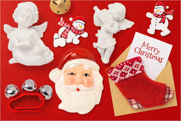 Awesome Christmas Scene Design