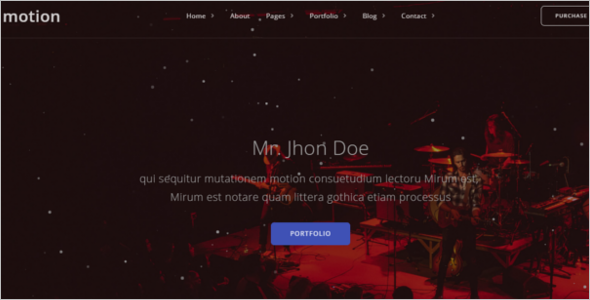 Awesome Event Website Template