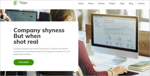 Awesome HTML Website Template