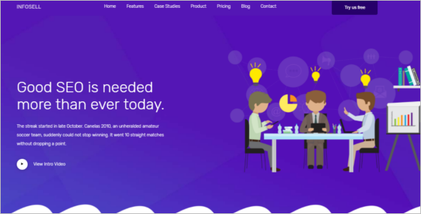 Awesome Marketing Website Template