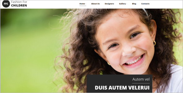 Baby Store Responsive Drupal Template
