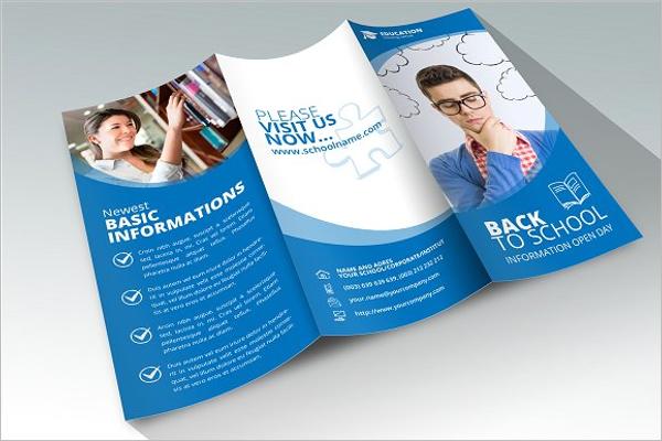 Back to School Education Brochure