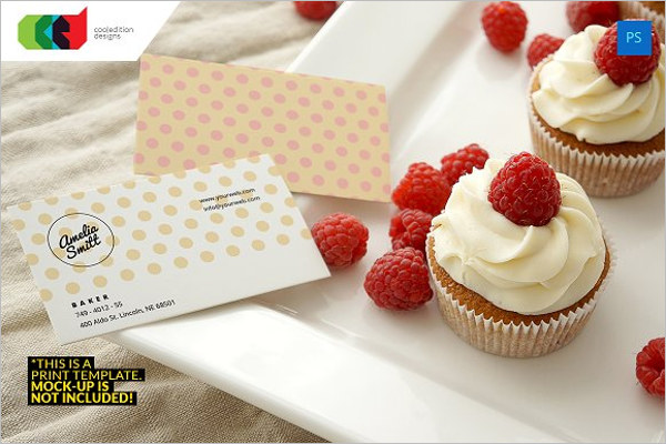 Baker Business Card Template