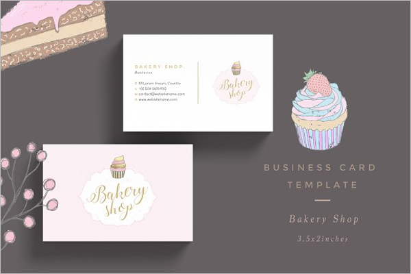 Bakery Buisness card template