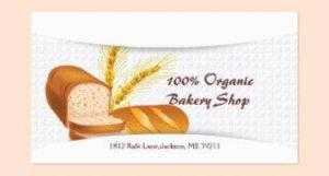 Bakery Business Card Templates