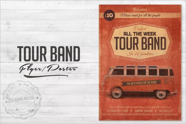 Band Festival Poster Design
