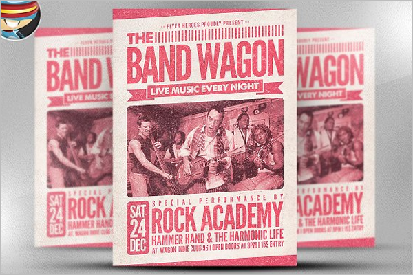 Band Flyer Template Word