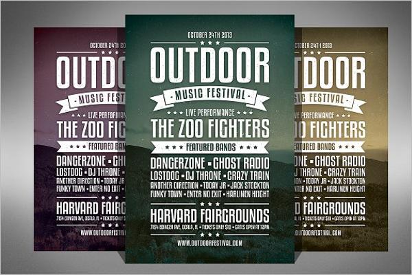 Band Music Festival Flyer