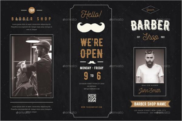 Barbershop Brochure Template