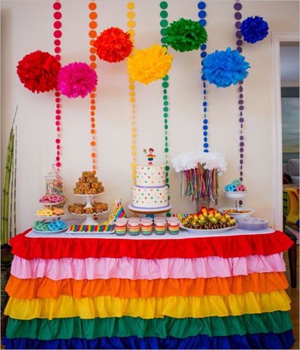 Beautiful Birthday Party Theme