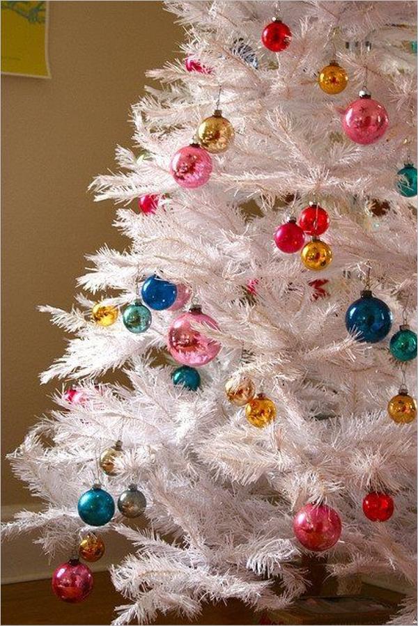 Beautiful White Christmas Trees