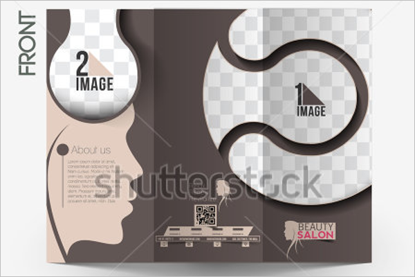 Beauty Care Salon Brochure Design