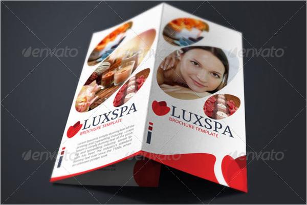 Beauty Salon Brochure PSD Template