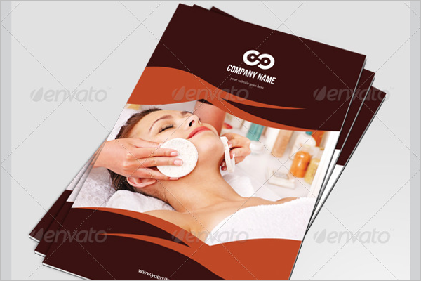 Beauty Salon Business Brochure Template