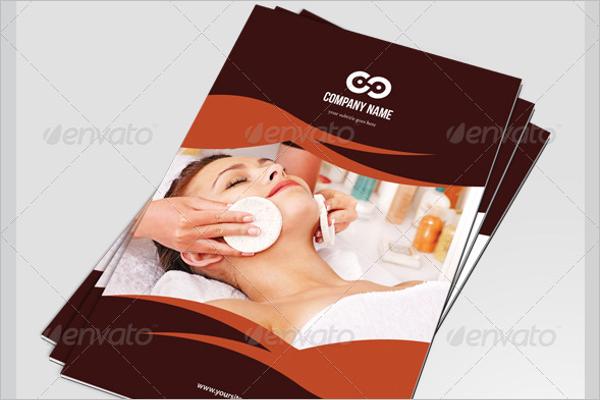 Beauty Salon Business Brochure Template