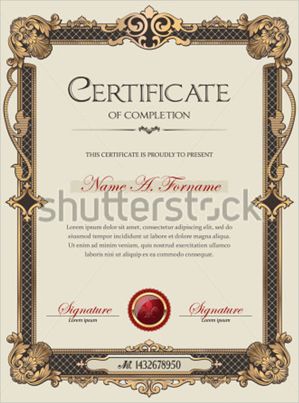 Best Academic Certificate Template