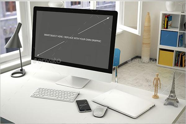 Best Computer Mockup Design