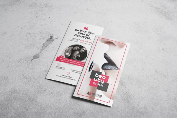 Best Hair Salon Brochure Template
