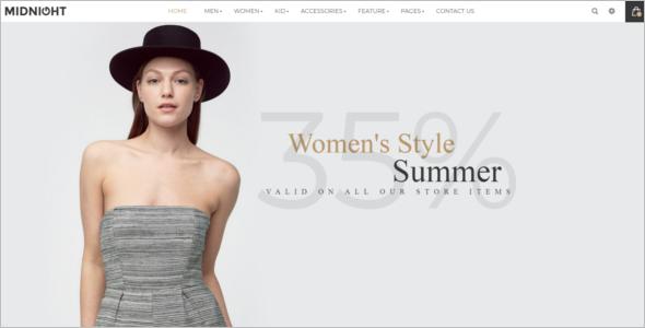 Best Magento Website Theme