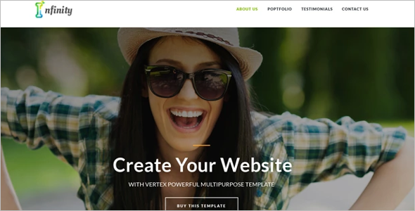 Best Personal Website Template